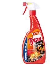 Tytan aktywny płyn do czyszczenia szyb kominkowych i grilli (500g)