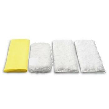Zestaw ściereczek z mikrofibry (4szt) do kuchni do SC 1 - SC 3, Karcher