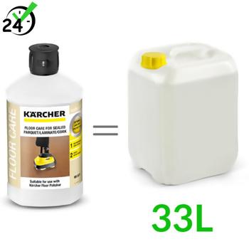 RM 531 (1L, 1:33) środek do pielęgnacji parkietów lakierowanych, laminatów, Karcher