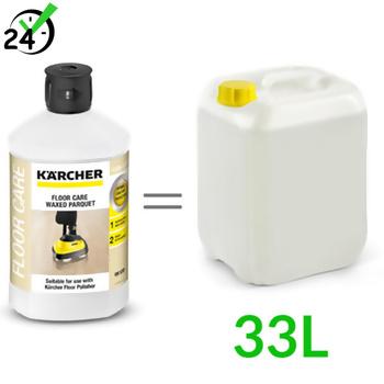 RM 530 (1L, 1:33) środek do pielęgnacji parkietów woskowych, Karcher