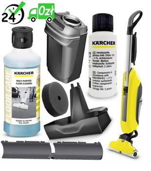 FC 5 mop elektryczny (300mm, 60m2/h) Karcher + RM 536 500ml