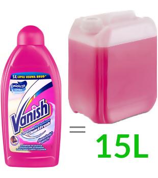 Płyn do prania dywanów (500ml, 1:30), Vanish