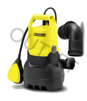 SP 3 Dirt (7000l/h, 350W) pompa Karcher - OUTLET