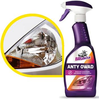 """Piana aktywna """"anty owad"""" do czyszczenia szyb (500ml), Brumm"""