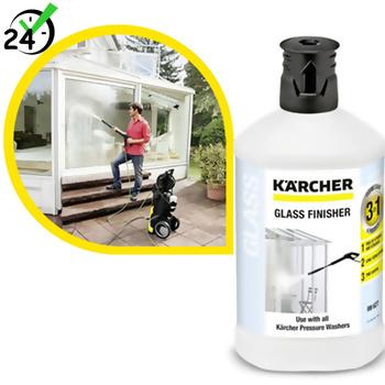 Środek czyszczący (1L) do szkła 3w1,  Karcher