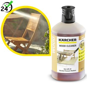 Środek czyszczący (1L) do drewna 3w1, Karcher