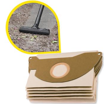 Worki papierowe (5szt) do Karcher WD 2, zamiennik