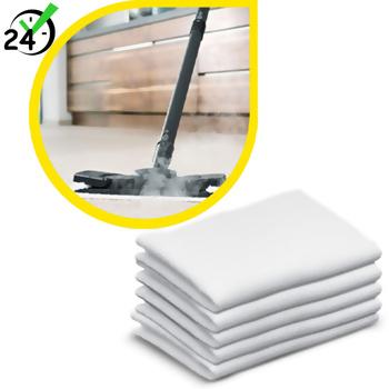 Ściereczki podłogowe frotte (5szt) do SC 1 - SC 3, Karcher