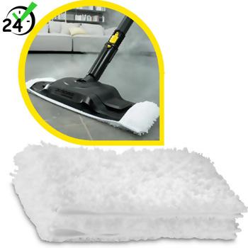 Ściereczki podłogowe z mikrofibry (2szt), do SC 4 - SC 5 Comfort Plus, Karcher