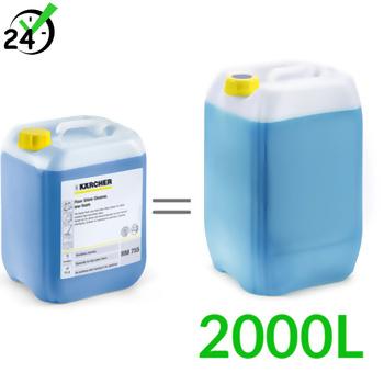 RM 755 (10L, dozowanie 0,5%)  środek do czyszczenia podłóg, Karcher