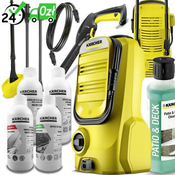 K 2 Compact Home + GRATIS Zestaw do mycia pojazdów, Karcher (110bar, 360l/h) myjka wysokociśnieniowa
