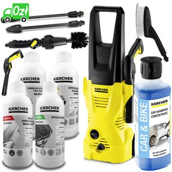 K 2 Car + GRATIS Zestaw do mycia pojazdów (110bar, 360l/h) myjka