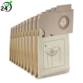 Papierowe worki do CV 36/2 i CV 46/2 (10 szt.) Karcher