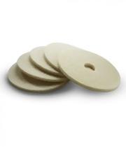 Miękkie pady z naturalnego włosia, średnica 432 mm, 5 sztuk