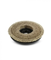 Szczotka tarczowa z naturalnym włosiem, miękka, średnica 355 mm