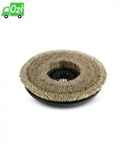 Szczotka tarczowa z naturalnym włosiem, miękka, średnica 385 mm