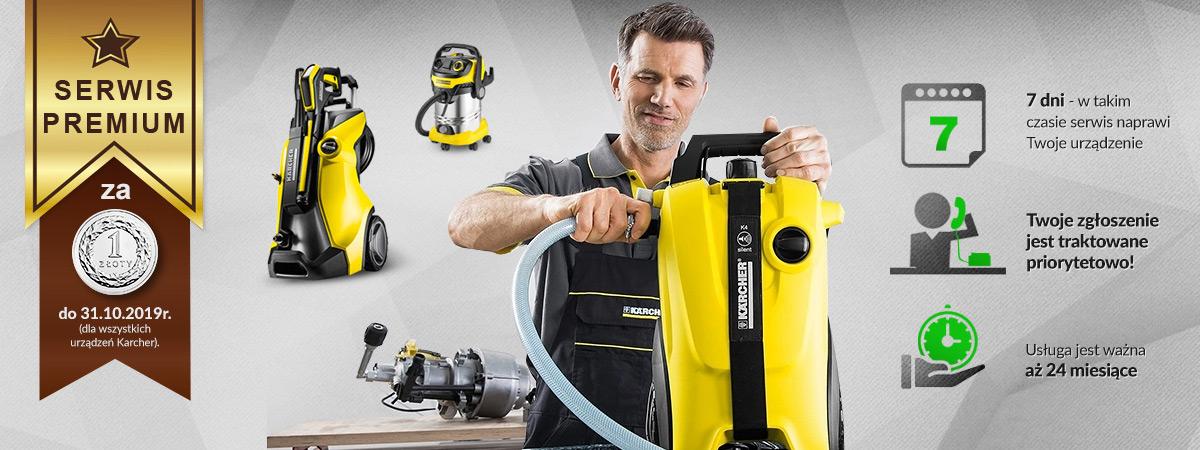 Serwis premium za 1 zł do końca września dla urządzeń profesjonalnych Kärcher